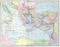 Paul's map